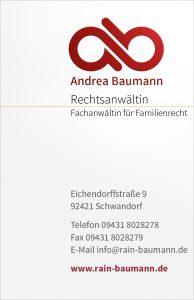 RAin Baumann Visitenkarte