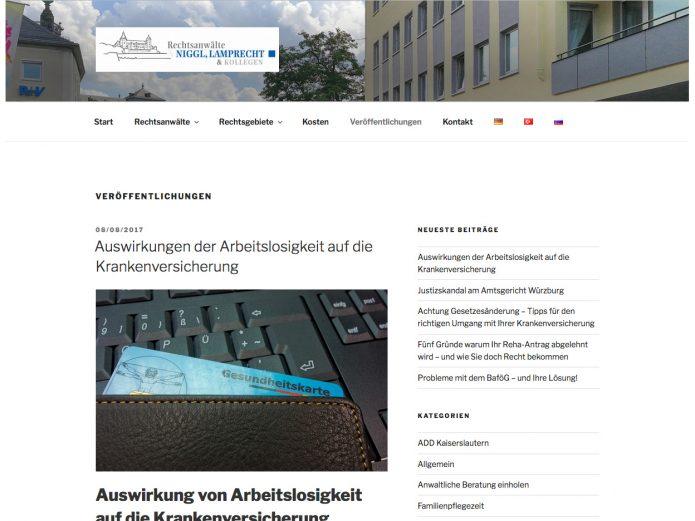 RAe-Niggl &Lamprecht · Homepage