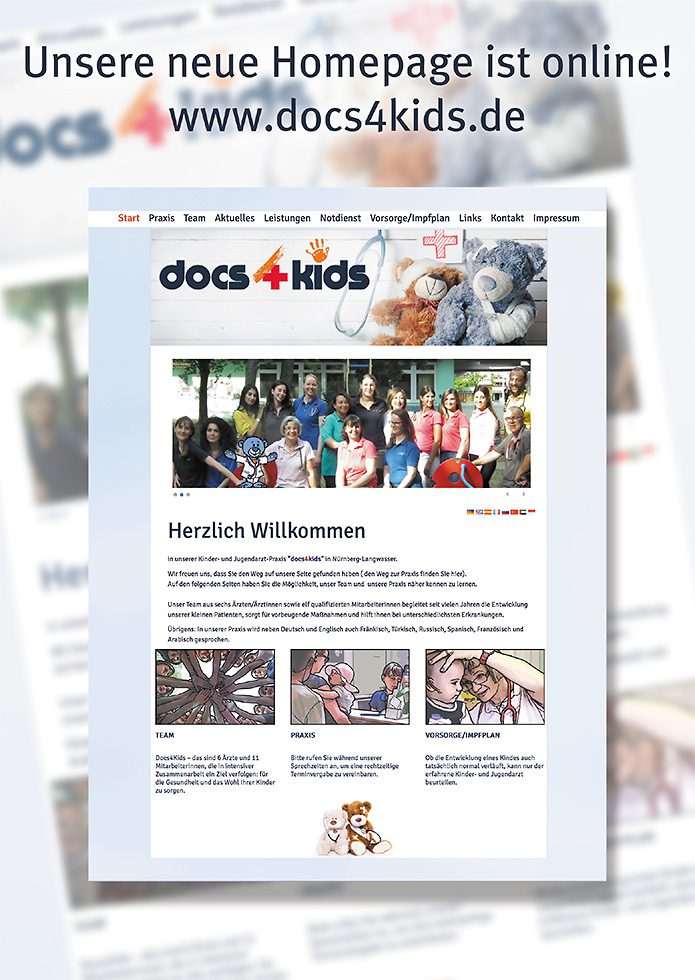 docs4kids Plakat