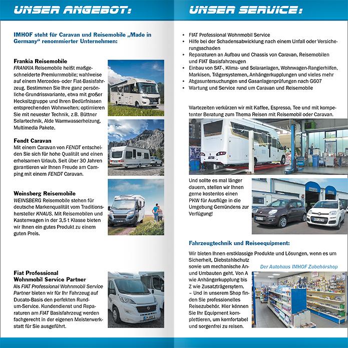 Autohaus Imhof LangDIN-Folder innen