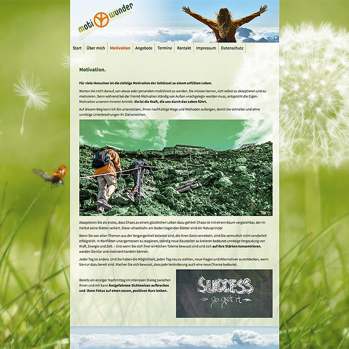 Homepage MotiWunder