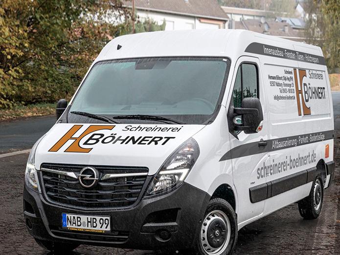 Böhnert · Fahrzeugbeschriftung-front