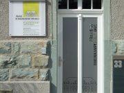 Praxis im Rheinkamper Rathaus : Leitsystem : Schilder