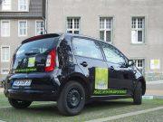 Praxis im Rheinkamper Rathaus : Fahrzeugbeschriftung