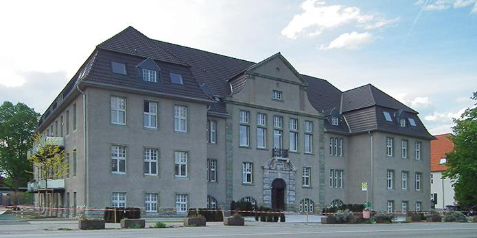 Praxis im Rheinkamper Rathaus