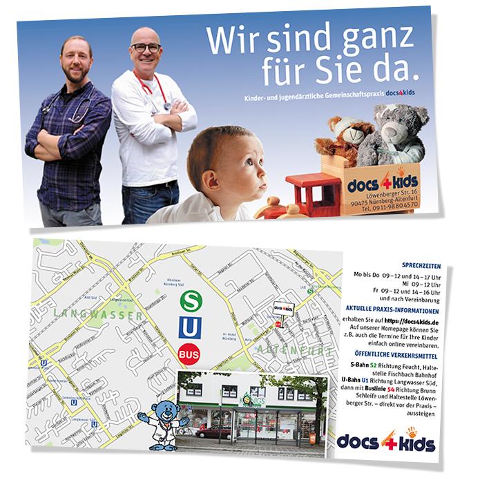 docs4kids · Info-Flyer