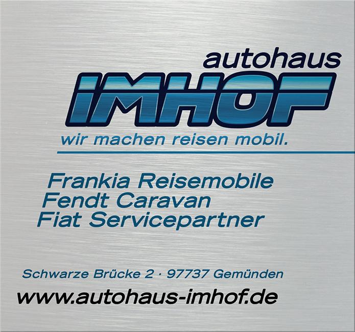 Autohaus Imhof · Firmenschild